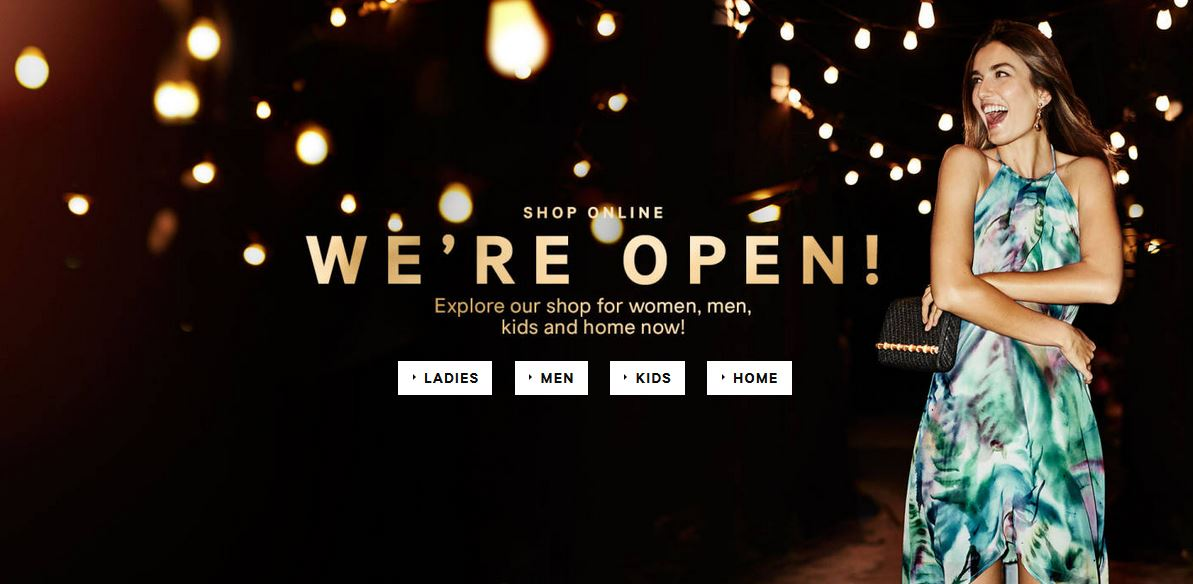 The Wait Is Over! H&M Go Online.